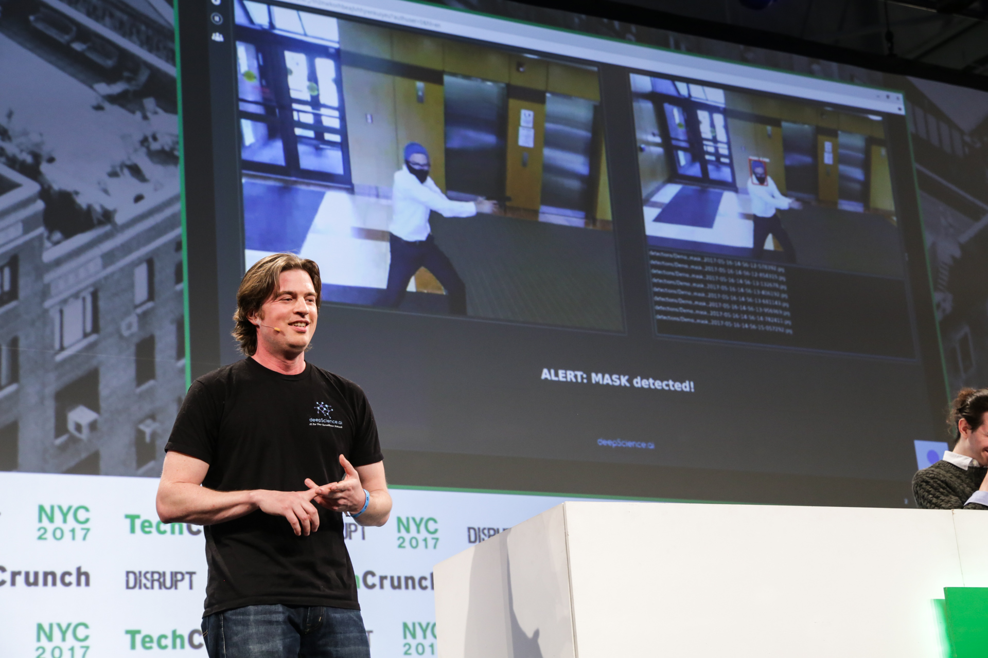 Deep Science AI joins Defendry to automatically detect crimes on camera tcdisrupt ny17 9263