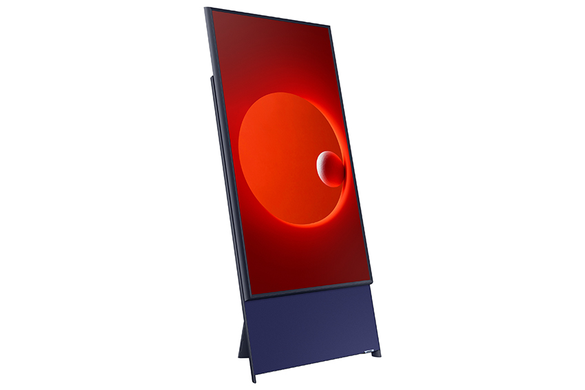 Samsung made a vertical TV for watching smartphone videos