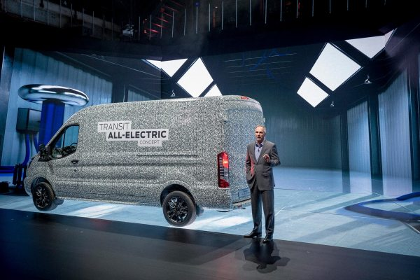 Ford is bringing an electric Transit van to Europe by 2021 2019 FORD GOFURTHER 4 AT THE SHOW 14 LOW
