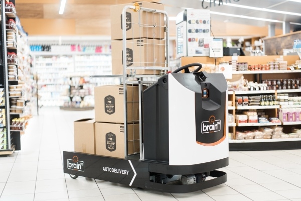 Brain Corp debuts an autonomous delivery robot for factories and retail