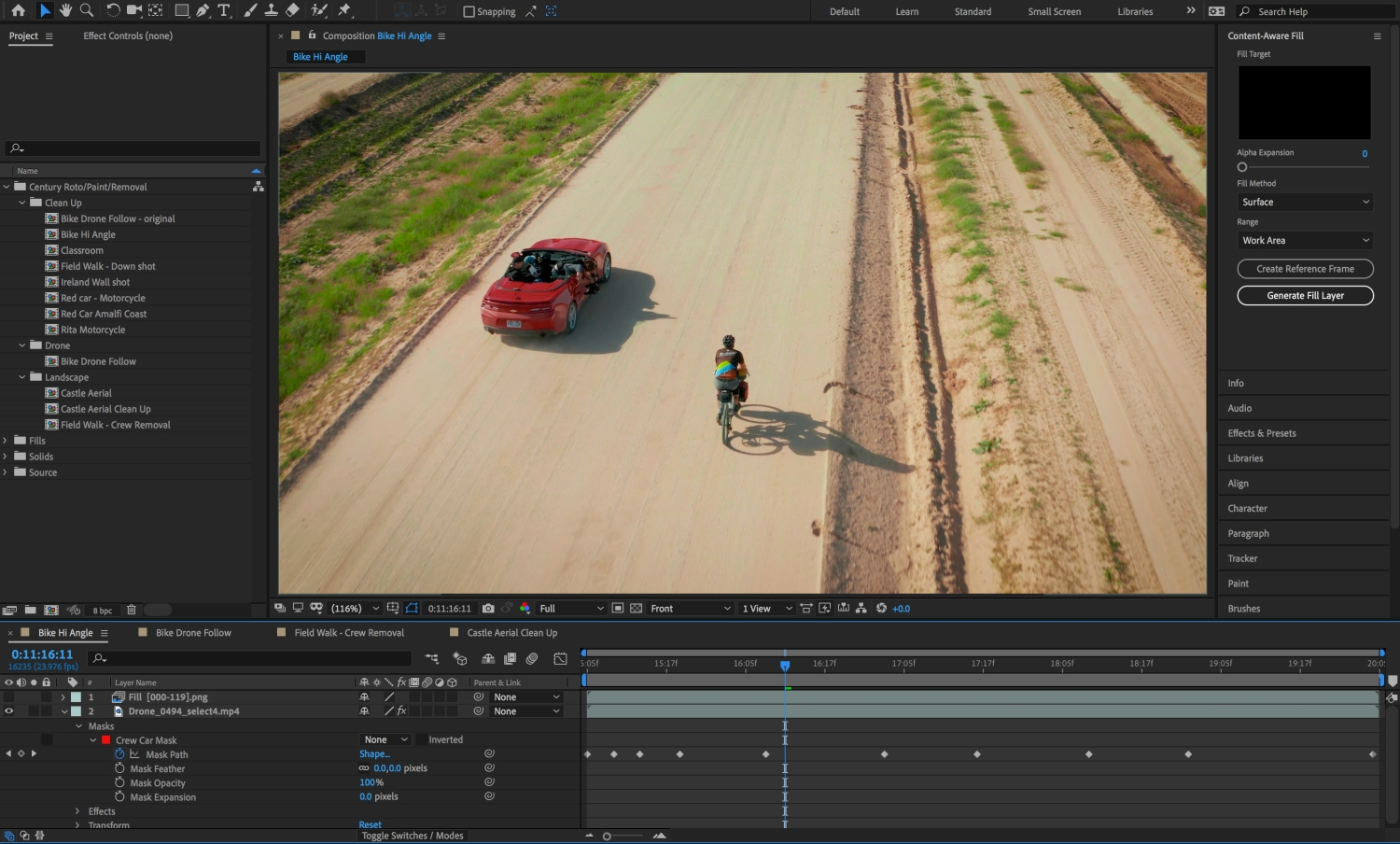 Adobe brings content-aware fill for videos to After Effects | TechCrunch