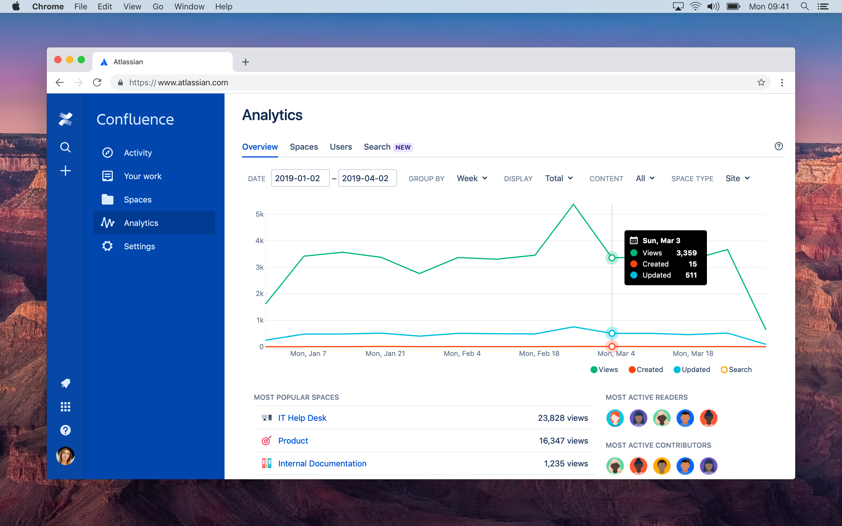 Atlassian gives Confluence a makeover, acquires Good Software Atlassian gives Confluence a makeover, acquires Good Software Atlassian Confluence analytics