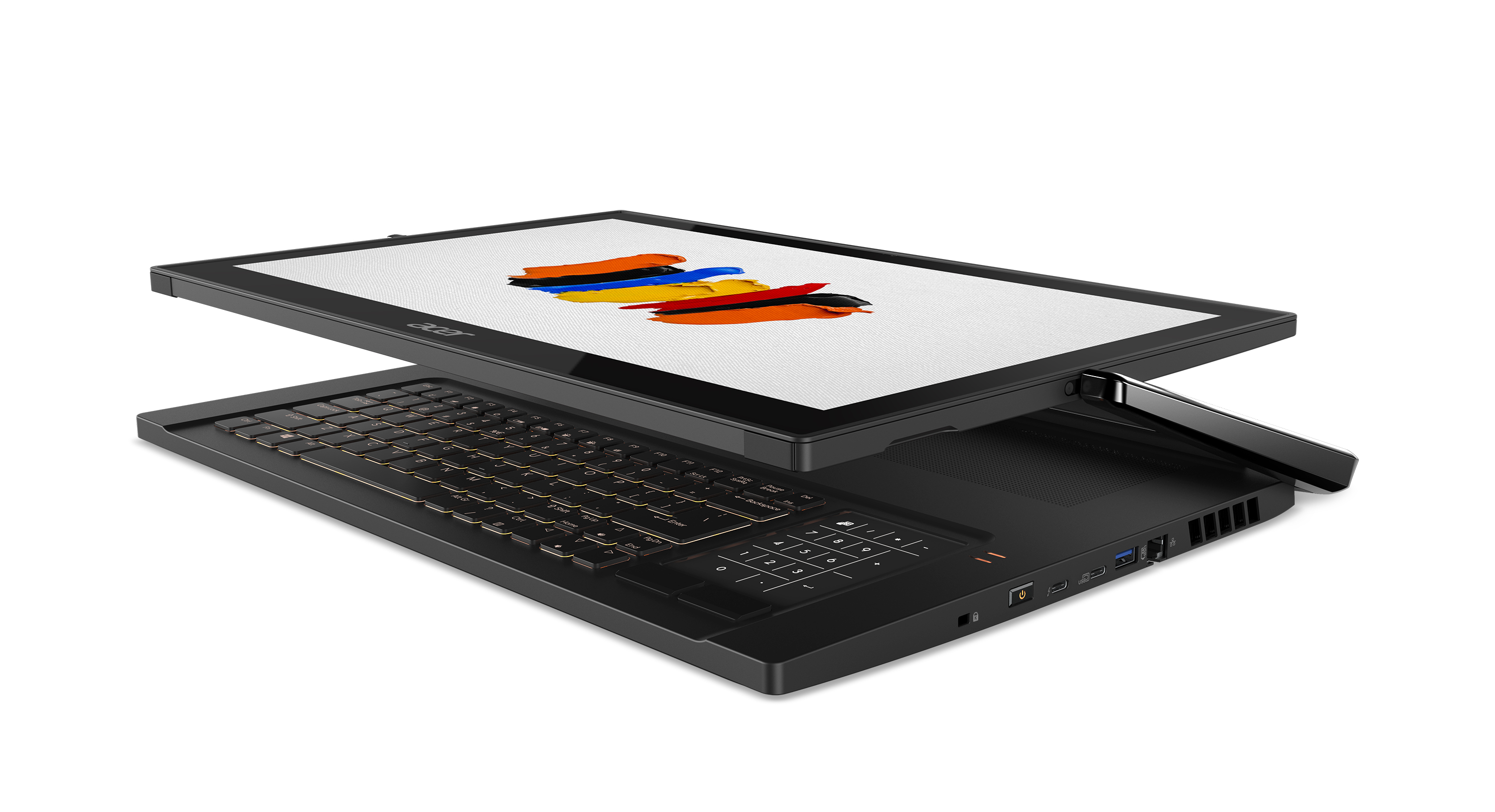 Acer's ConceptD 9 is part laptop, part graphics tablet