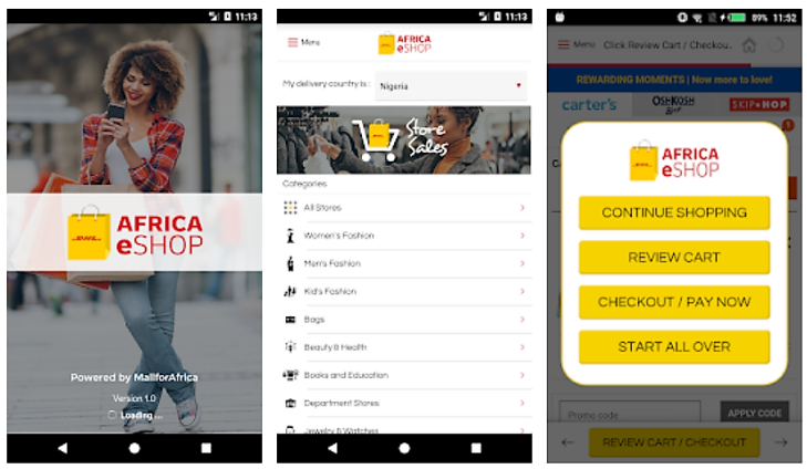 Dhl Locations Near Me >> Dhl Launches Africa Eshop App For Global Retailers To Sell