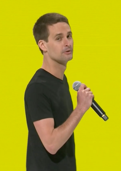 To stop copycats, Snapchat shares itself Evan Spiegel