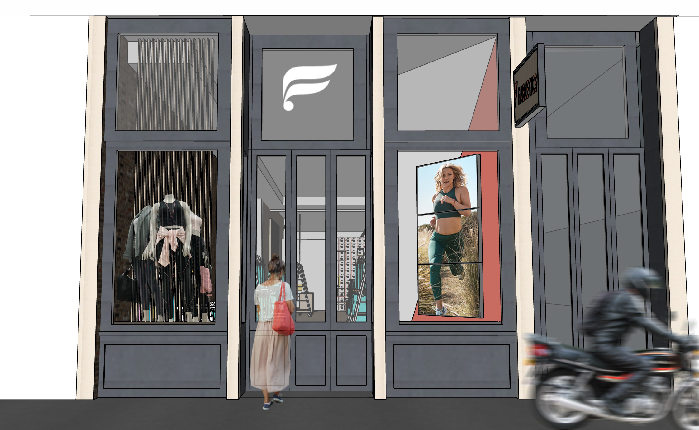 Fabletics The Activewear Brand From Kate Hudson Launches Nyc Pop Up Shop Techcrunch