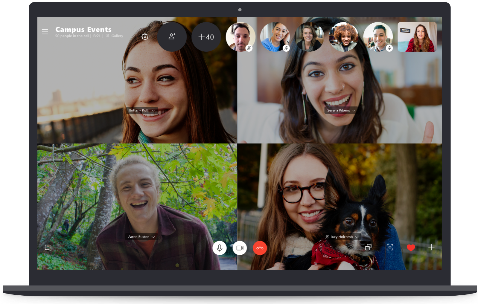 Skype now supports up to 50 group call participants, topping ...