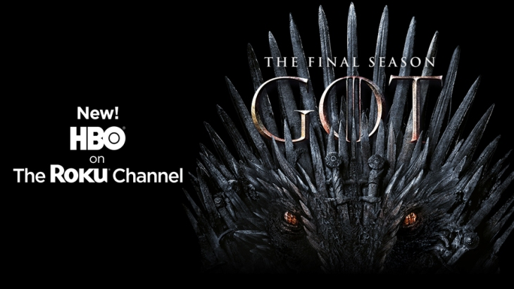 The Roku Channel adds support for HBO just in time for 'Game