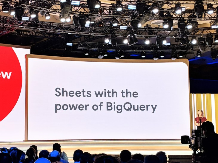 Google makes the power of BigQuery available in Sheets