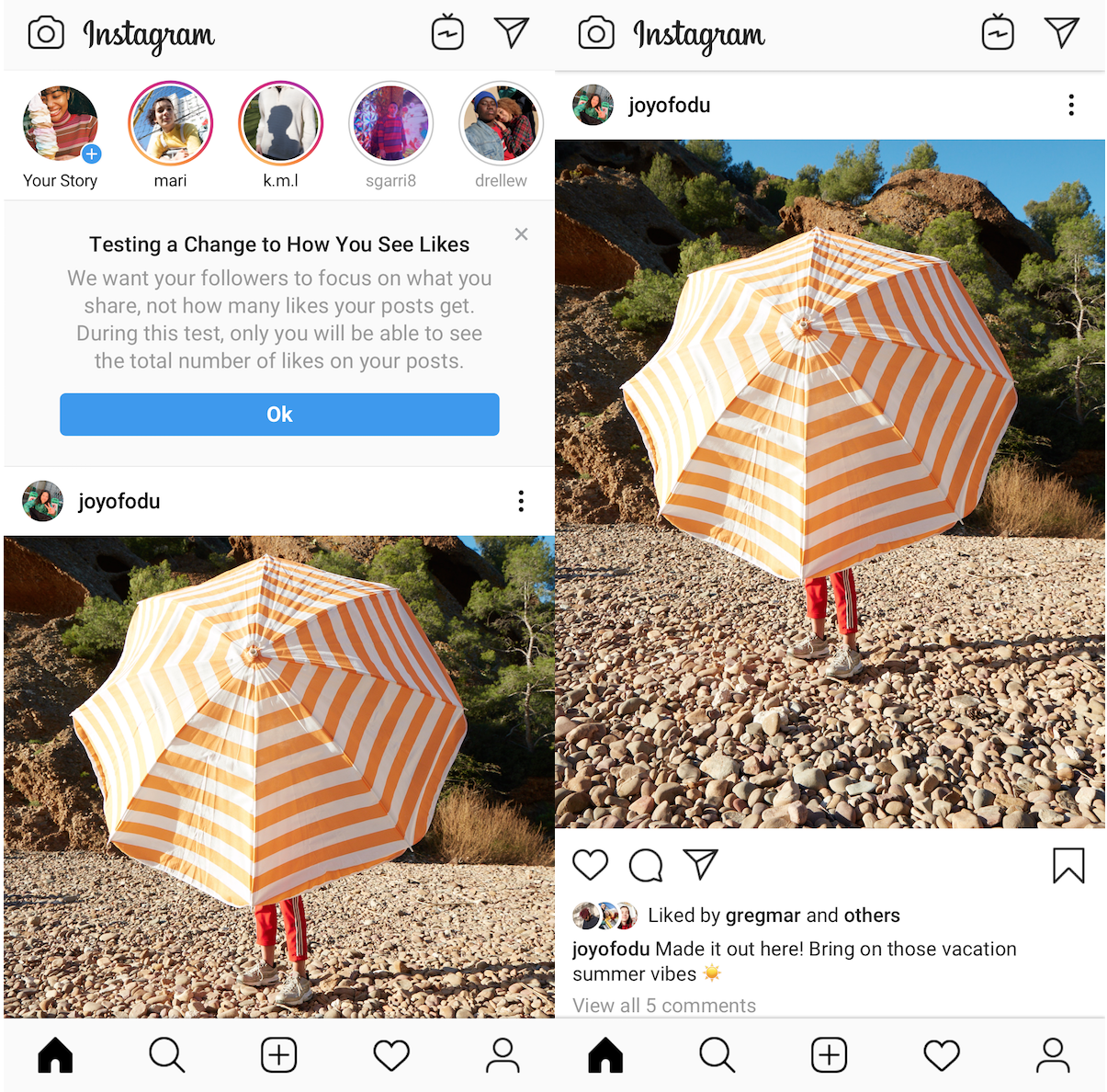 Instagram will now hide likes in 6 more countries | TechCrunch