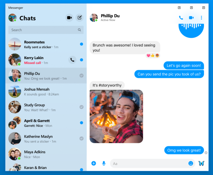 Facebook Messenger will get desktop apps, co-watching, emoji status Facebook Messenger will get desktop apps, co-watching, emoji status Messenger Desktop App chat