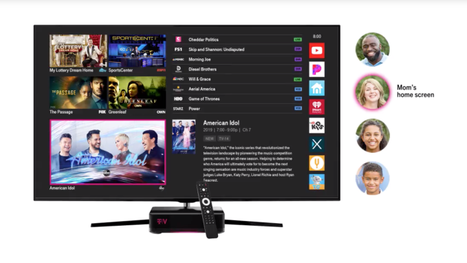 T-Mobile officially unveils its home TV service, TVision Home