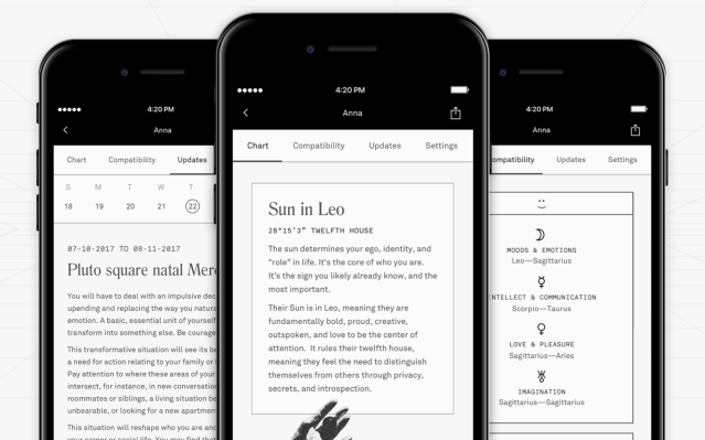 Co-Star raises $5 million to bring its astrology app to Android - TechCrunch