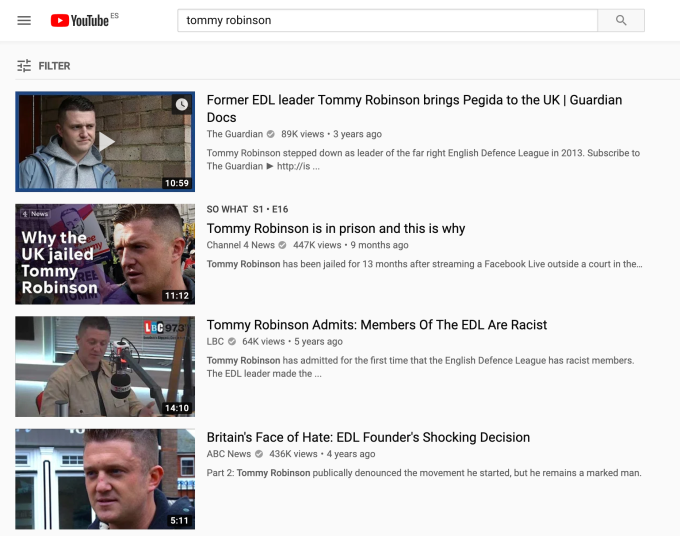 YouTube tightens restrictions on channel of UK far right activist — but no ban