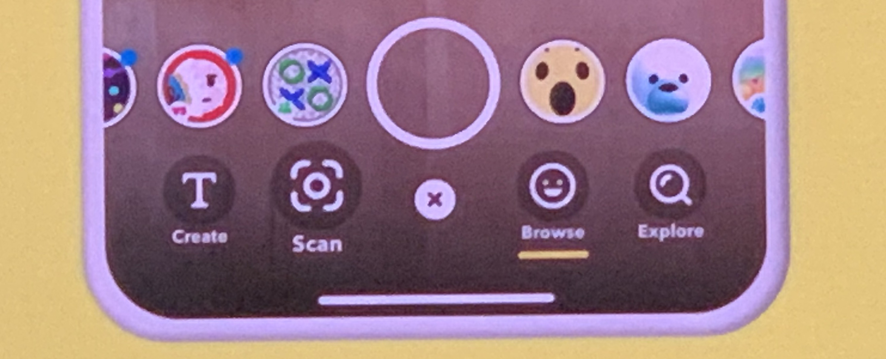 Snapchat AR Bar