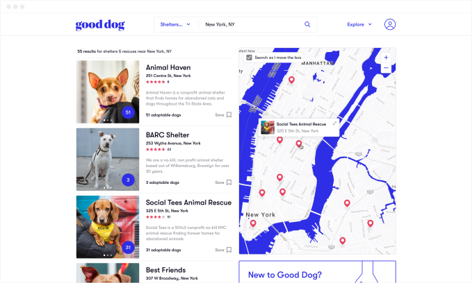 Good Dog raises $6.7 million to help you find a pup
