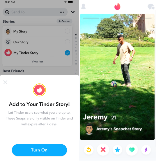 To stop copycats, Snapchat shares itself Stories Kit 1