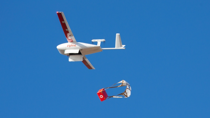 Drone delivery startup Zipline launches UAV medical program