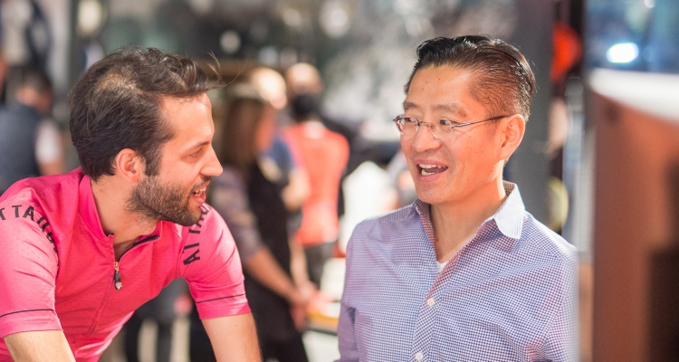 Zwift CEO Eric Min on fitness-gaming and bringing esports into the Olympics – TechCrunch