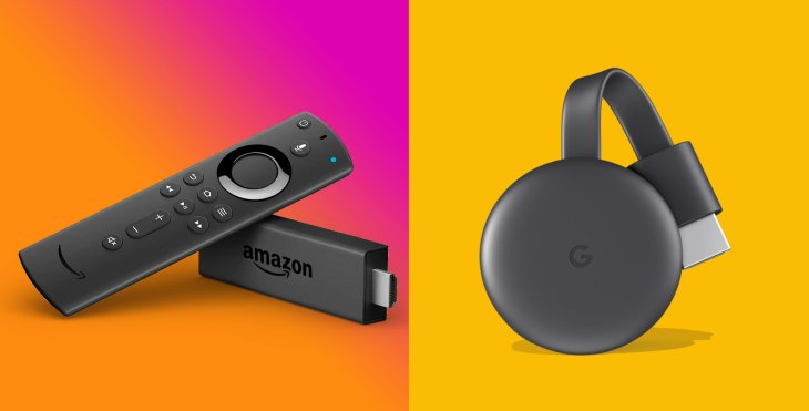 fire tv stick google chromecast