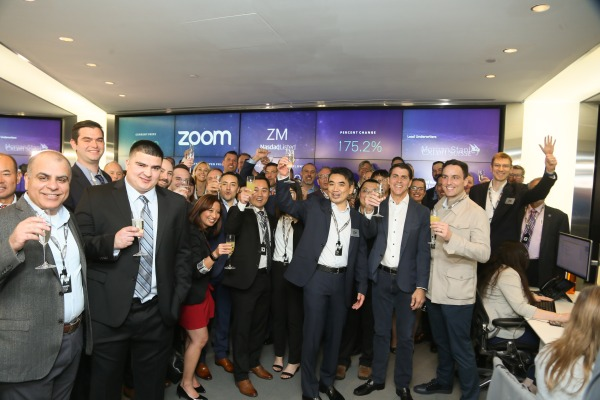 Startups Weekly: Zoom CEO says its stock price is 'too high'