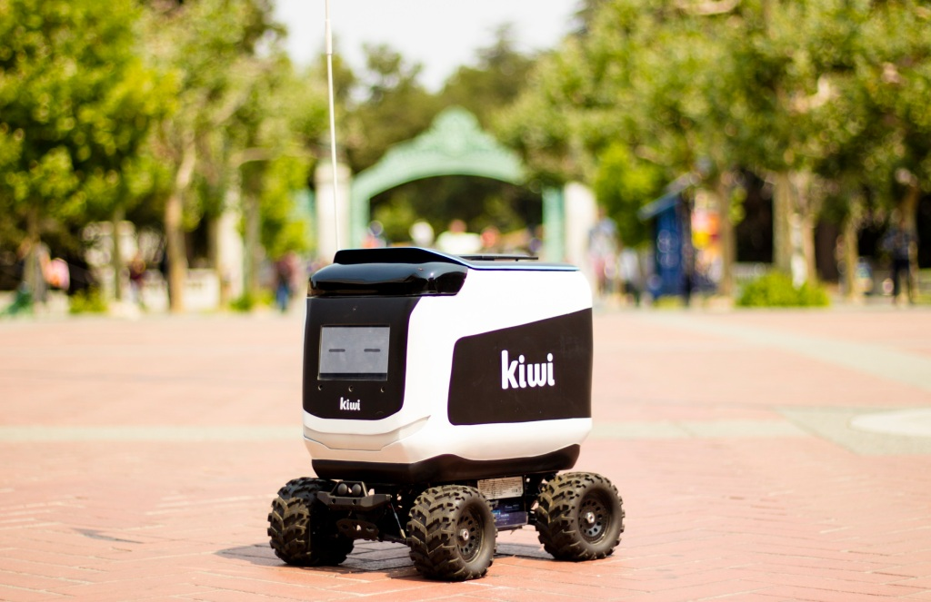 Kiwi's food delivery bots are rolling out to 12 new colleges
