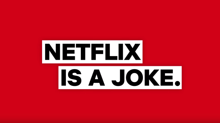 Netflix partners with Sirius XM on new comedy channel, 'Netflix is a Joke' - TechCrunch