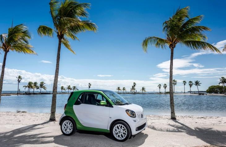 Pressefahrveranstaltung Smart Fortwo Electric Drive C453 8211 Miami 2016pressdrive