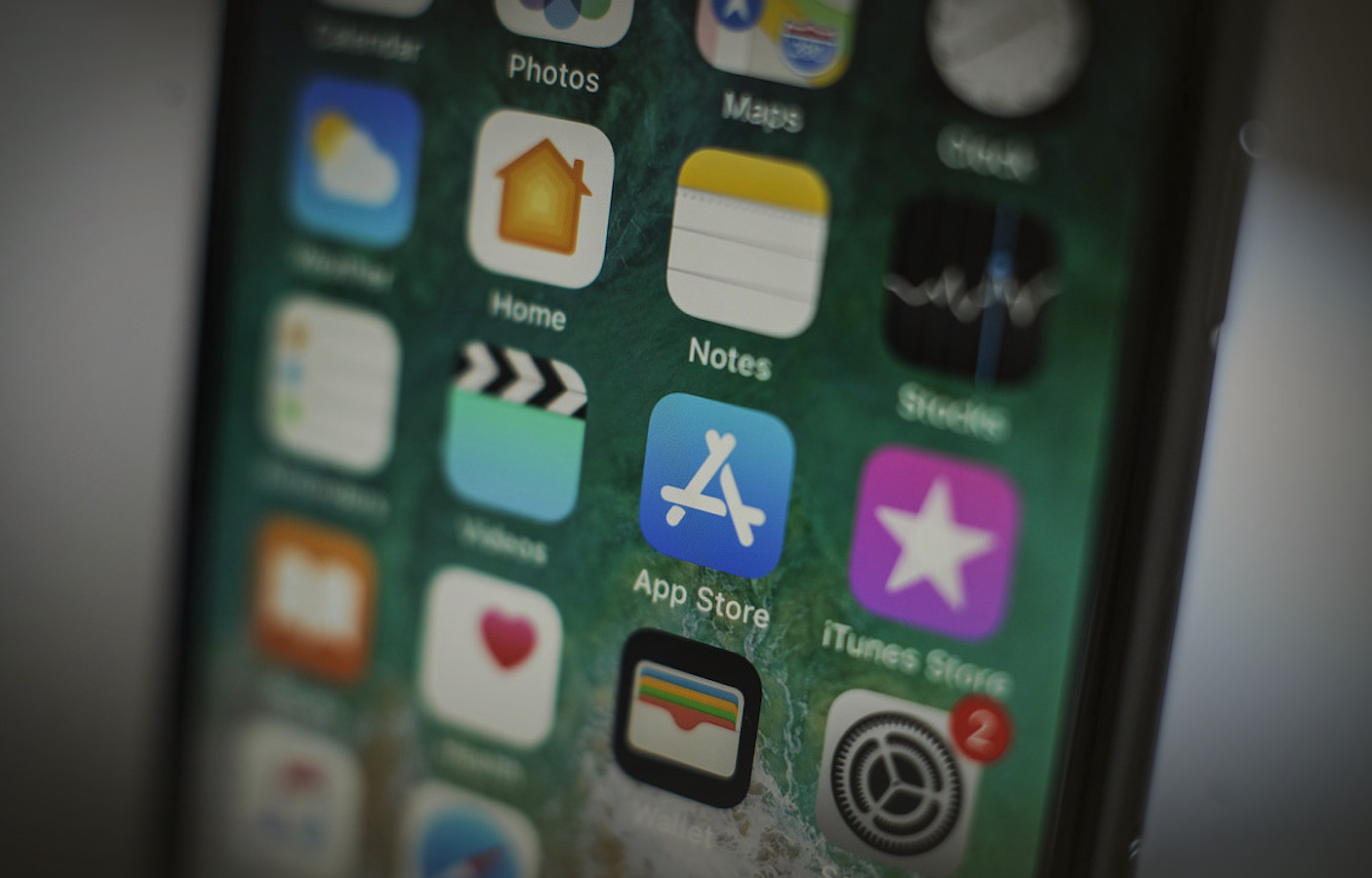 spyware on an iphone