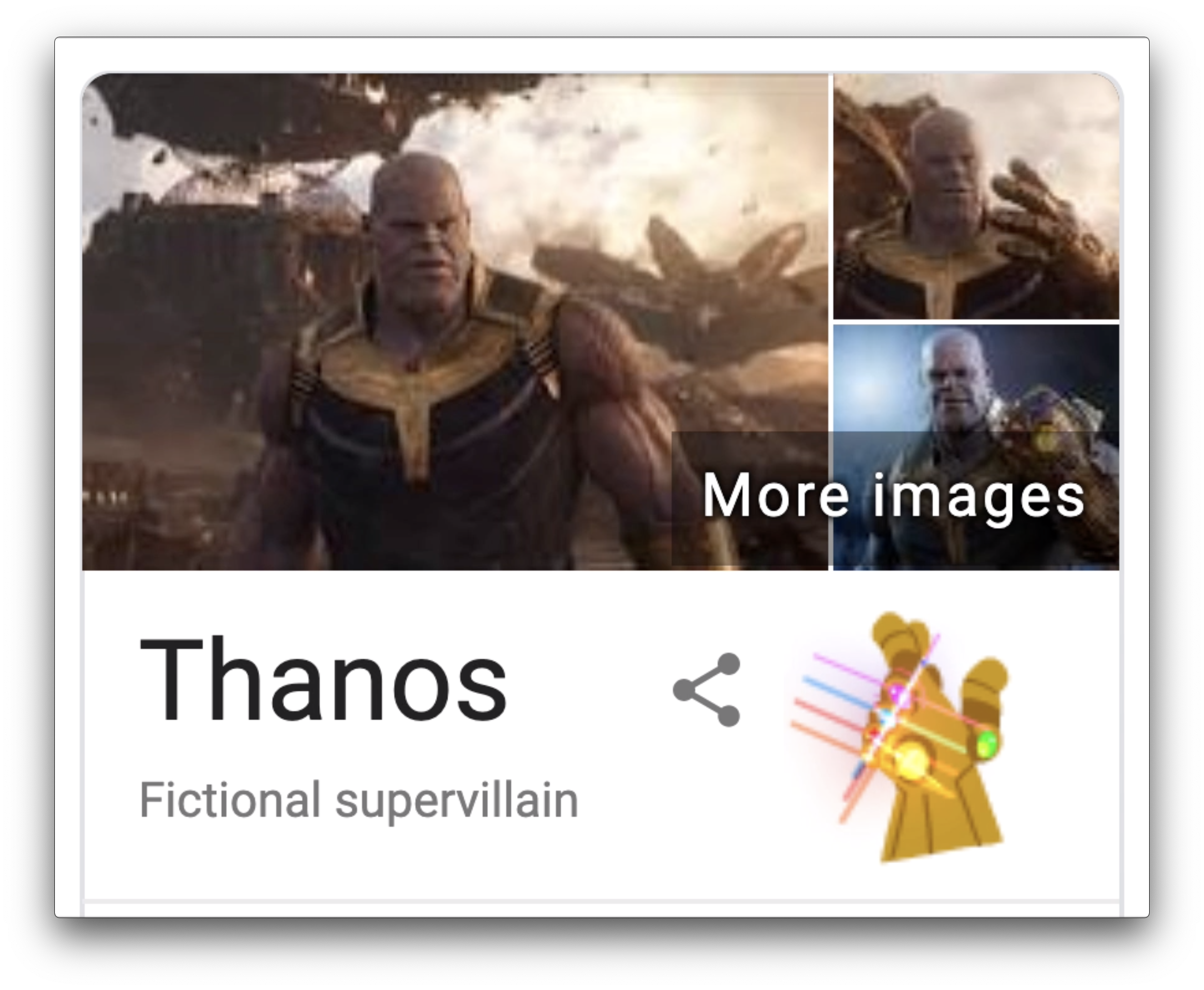 Thanos will snap away your Google search results | TechCrunch