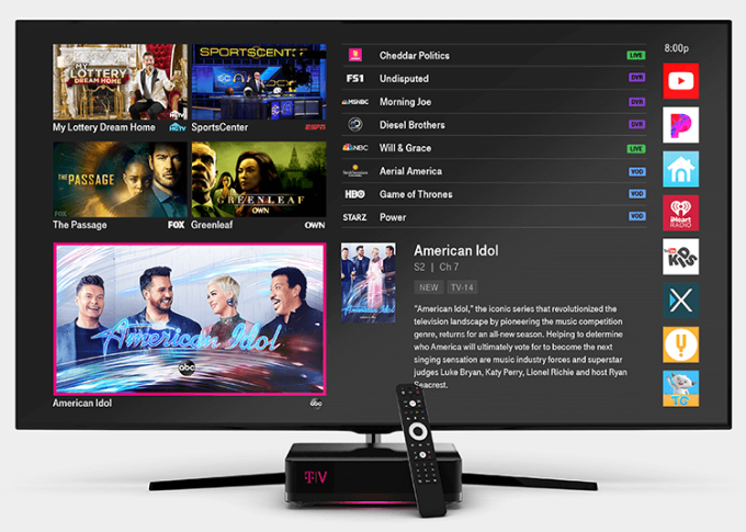 T Mobile Officially Unveils Its Home Tv Service Tvision