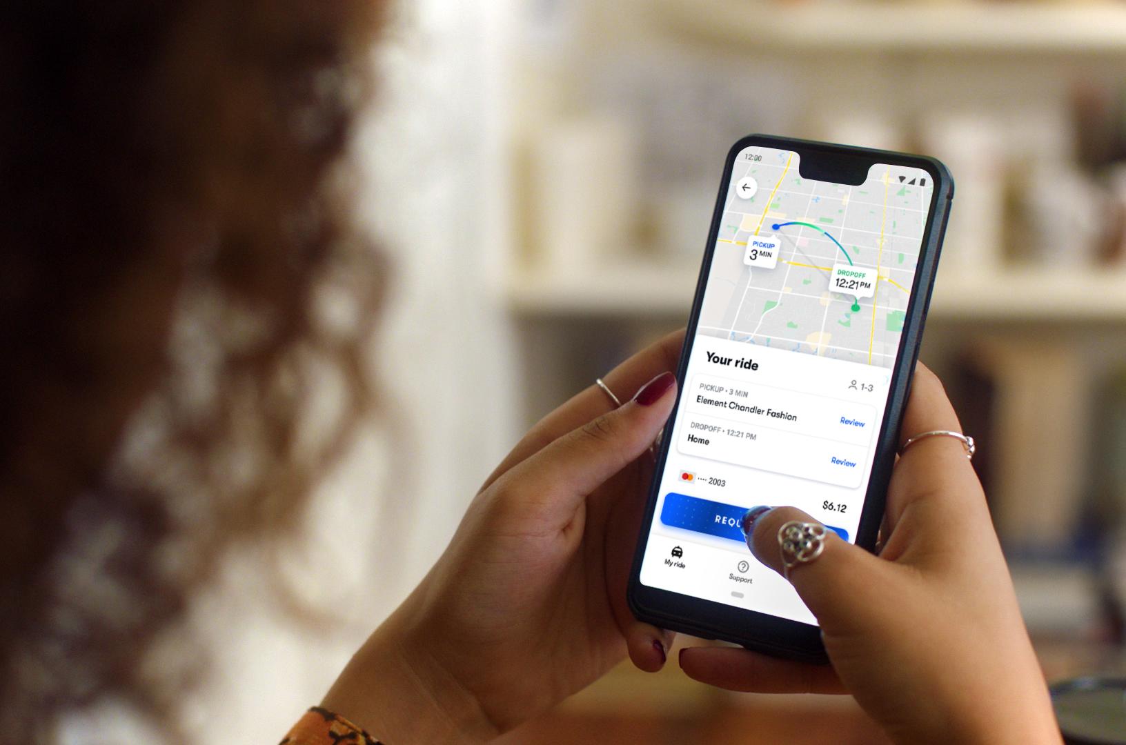 Waymo launches robotaxi app on Google Play | TechCrunch