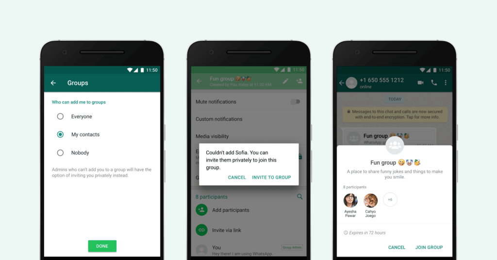 WhatsApp adds a new privacy setting for groups in another effort to