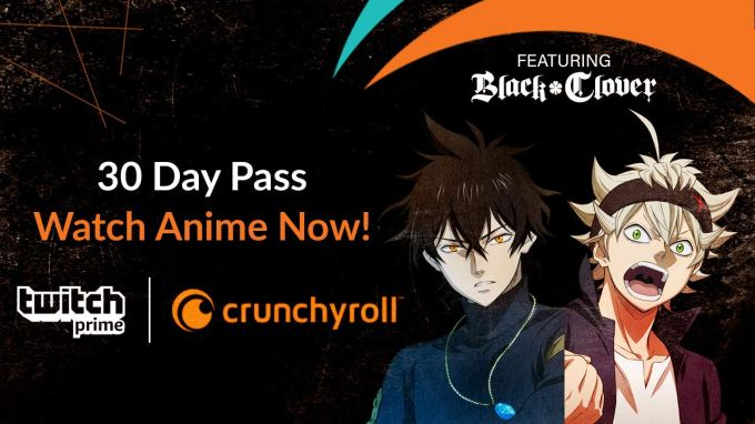Twitch Prime adds its first non-gaming 'loot' with access to anime streaming service Crunchyroll