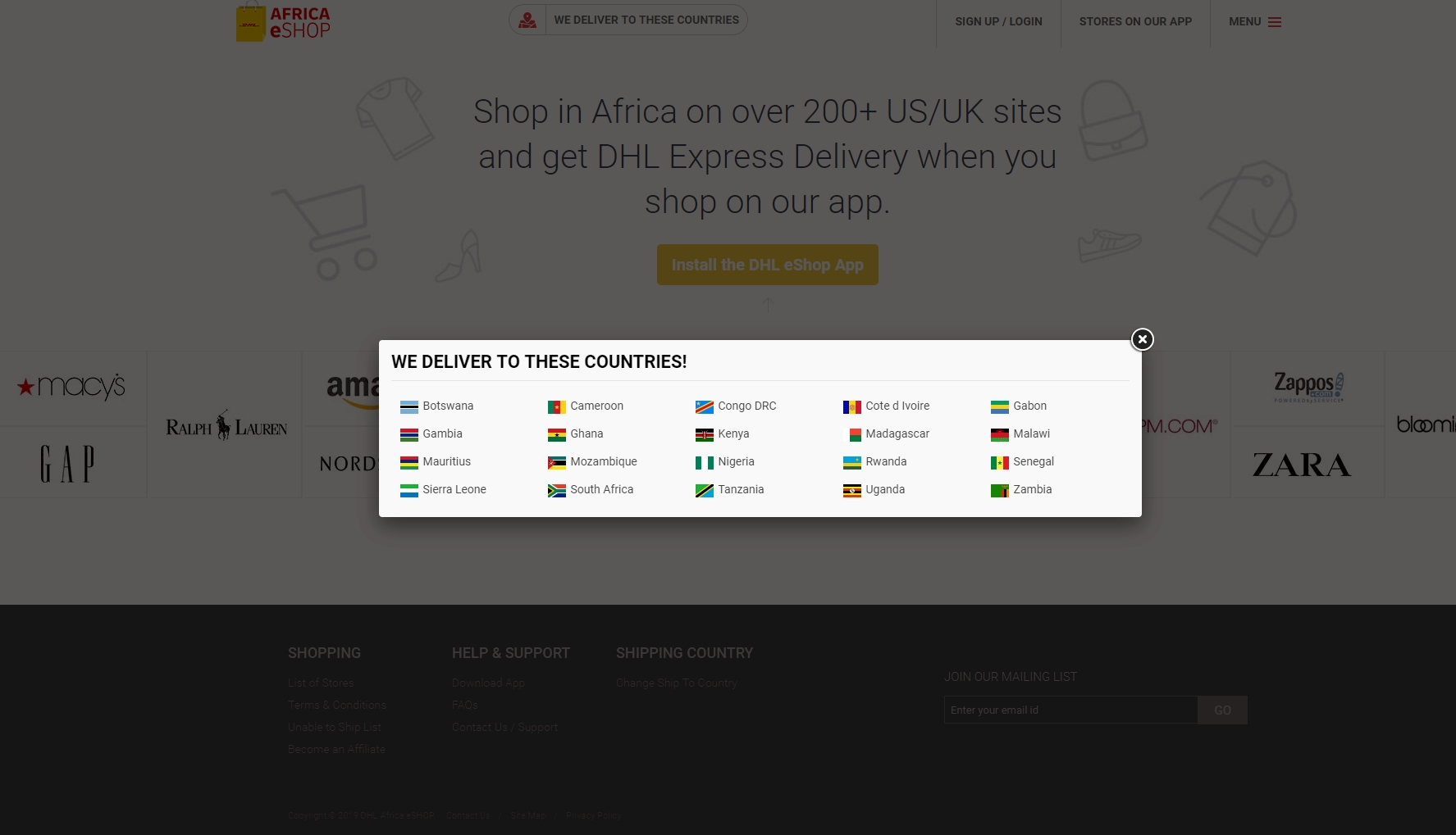DHL brings Africa eShop to 20 countries in a competitive nod to