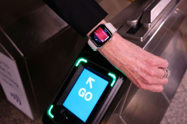 NYC's contactless subway turnstiles open today with Apple, Google, Samsung and Fitbit Pay support