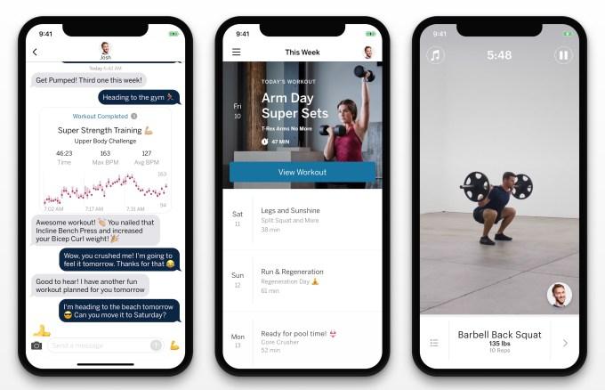 Future launches $150/mo exercise app where real coaches nag