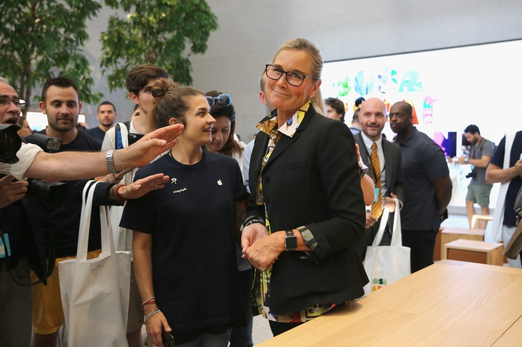 Airbnb adds former Apple retail chief Angela Ahrendts to board