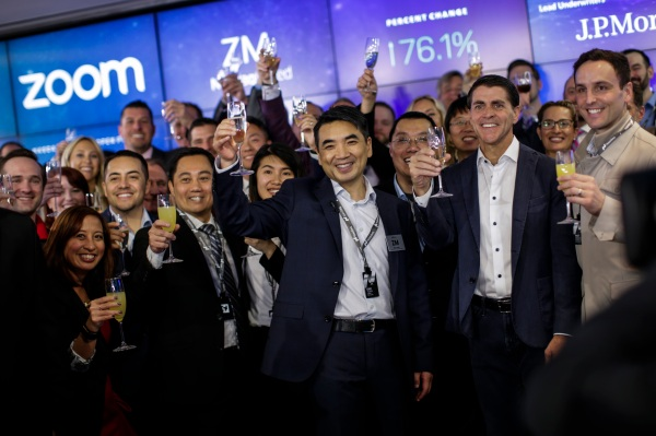 [Tvt News]Under the hood on Zoom's IPO, with founder and CEO Eric Yuan