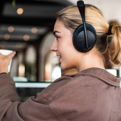 Bose previews voice controlled on-ear headphones and a pair of wireless earbuds