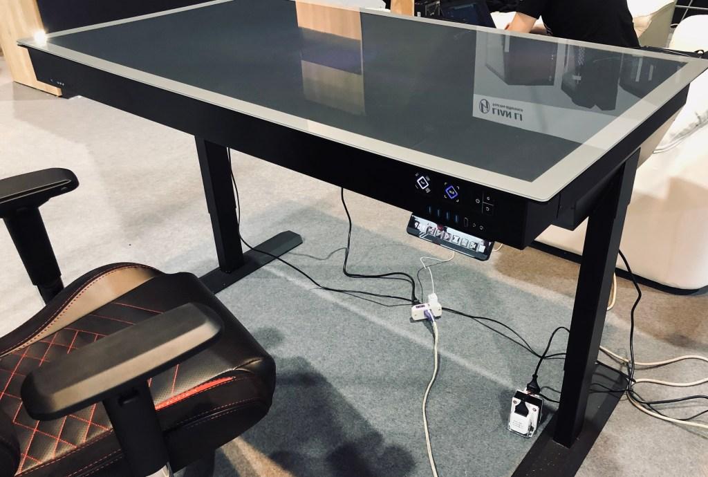 Lian Li's DK-05 is a standing desk with a cool twist
