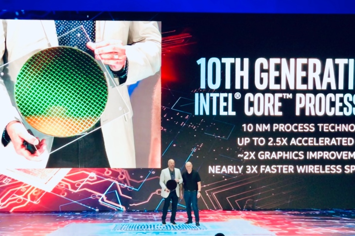 Devices built with Intel's Ice Lake and Project Athena