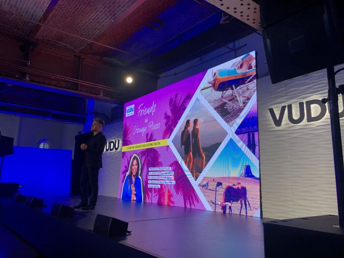 Walmart's Vudu shows off original content and shoppable ads