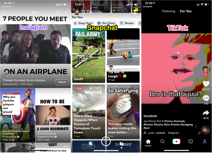 Snapchat Discover Greeen