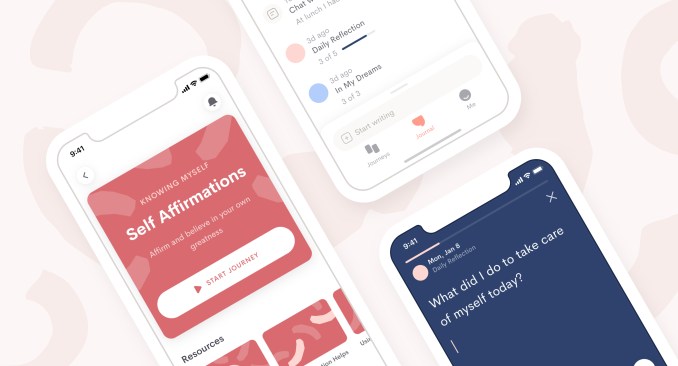 Throw out your diary, Jour is a new app for guided journaling