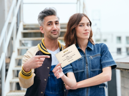 Netflix takes on 'Project Runway' with new competition series co-hosted by Queer Eye star