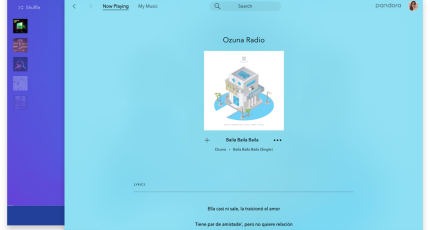 Pandora's new native Mac app streams music, not podcasts | TechCrunch