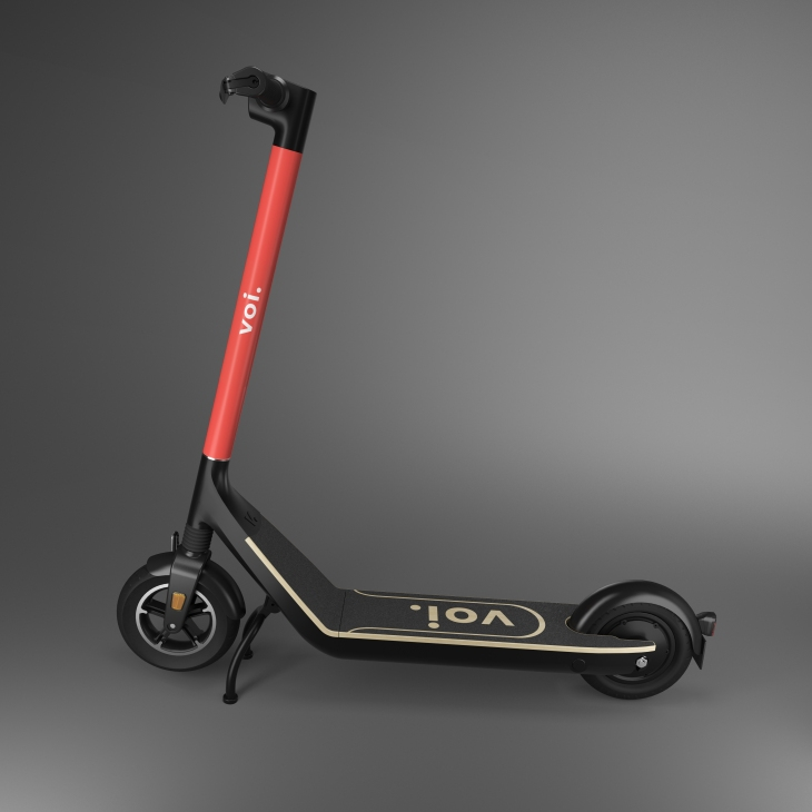 Voi unveils 'longer-lasting' e-scooters designed to