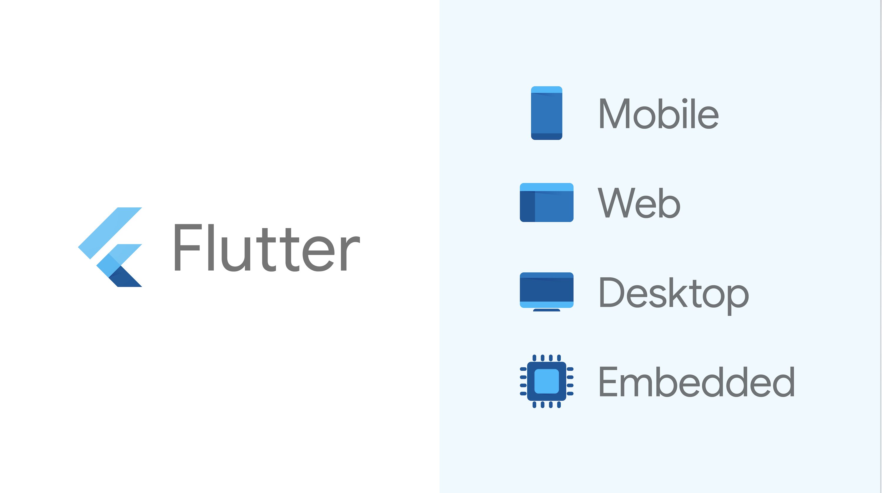 Google's Flutter framework spreads its wings and goes multi-platform