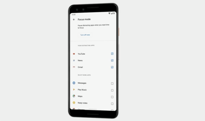 Google expands digital wellbeing tools to include a new 'Focus mode,' adds improved parental controls to Android